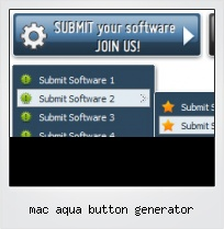 Mac Aqua Button Generator
