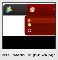 Metal Buttons For Your Web Page