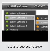 Metallic Buttons Rollover