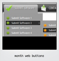 Month Web Buttons