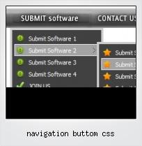Navigation Buttom Css
