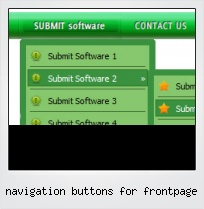 Navigation Buttons For Frontpage