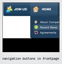 Navigation Buttons In Frontpage