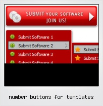 Number Buttons For Templates