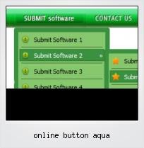 Online Button Aqua