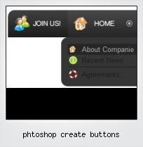 Phtoshop Create Buttons