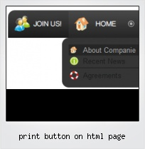 Print Button On Html Page
