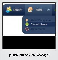 Print Button On Webpage
