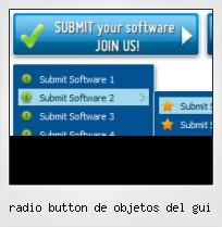 Radio Button De Objetos Del Gui