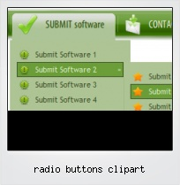 Radio Buttons Clipart