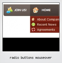Radio Buttons Mouseover