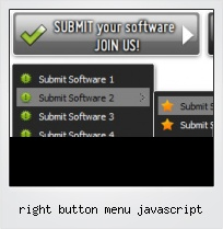 Right Button Menu Javascript