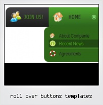 Roll Over Buttons Templates