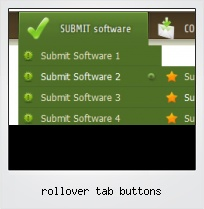 Rollover Tab Buttons