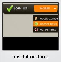 Round Button Clipart