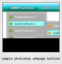 Sample Photoshop Webpage Buttons