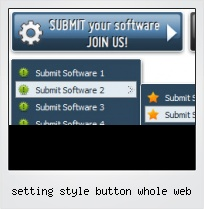 Setting Style Button Whole Web