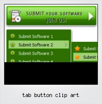 Tab Button Clip Art