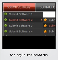 Tab Style Radiobuttons