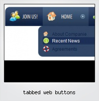 Tabbed Web Buttons