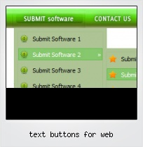 Text Buttons For Web