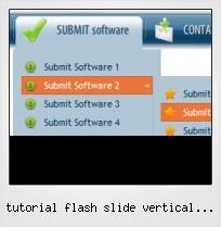 Tutorial Flash Slide Vertical Button