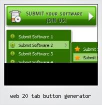 Web 20 Tab Button Generator