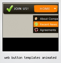 Web Button Templates Animated