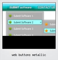 Web Buttons Metallic