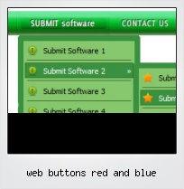 Web Buttons Red And Blue