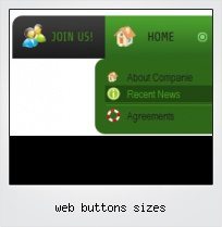 Web Buttons Sizes