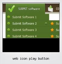 Web Icon Play Button
