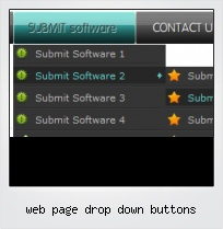 Web Page Drop Down Buttons