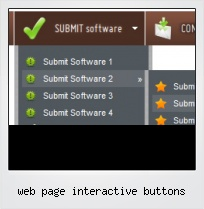 Web Page Interactive Buttons
