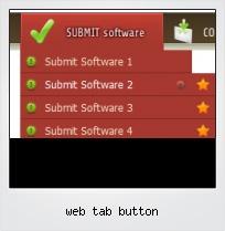 Web Tab Button