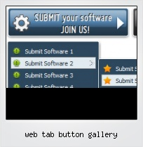 Web Tab Button Gallery