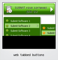 Web Tabbed Buttons