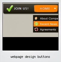 Webpage Design Buttons