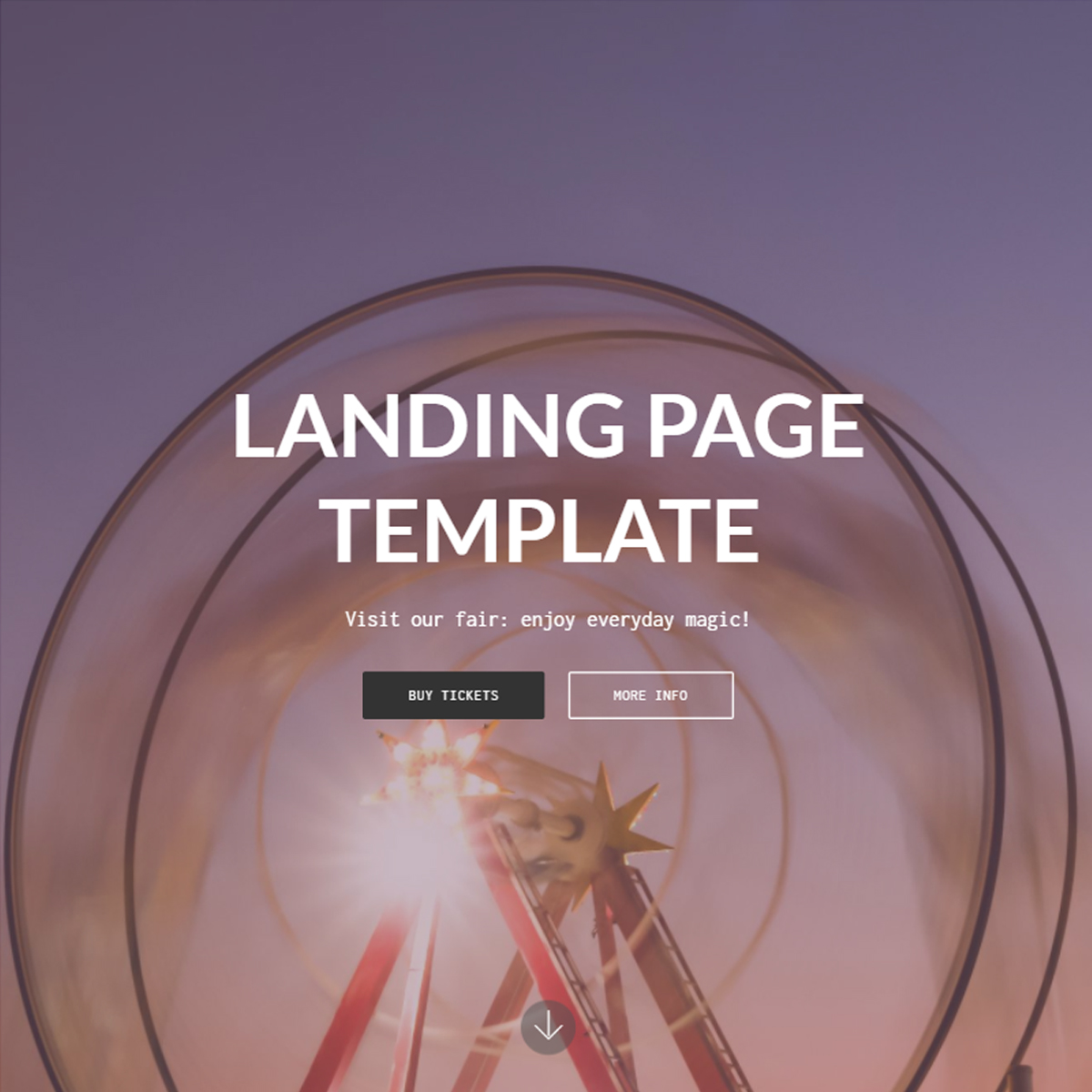 HTML Bootstrap Landing Themes