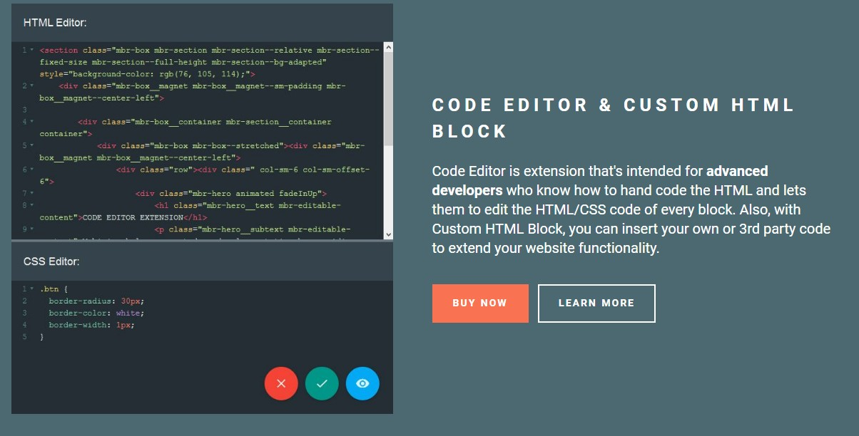 HTML5 Website Theme