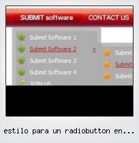 Estilo Para Un Radiobutton En Linux