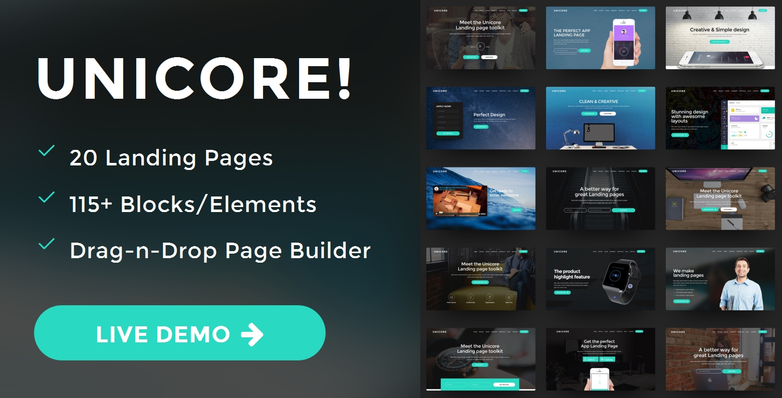 Best Bootstrap Landing Page Theme Template