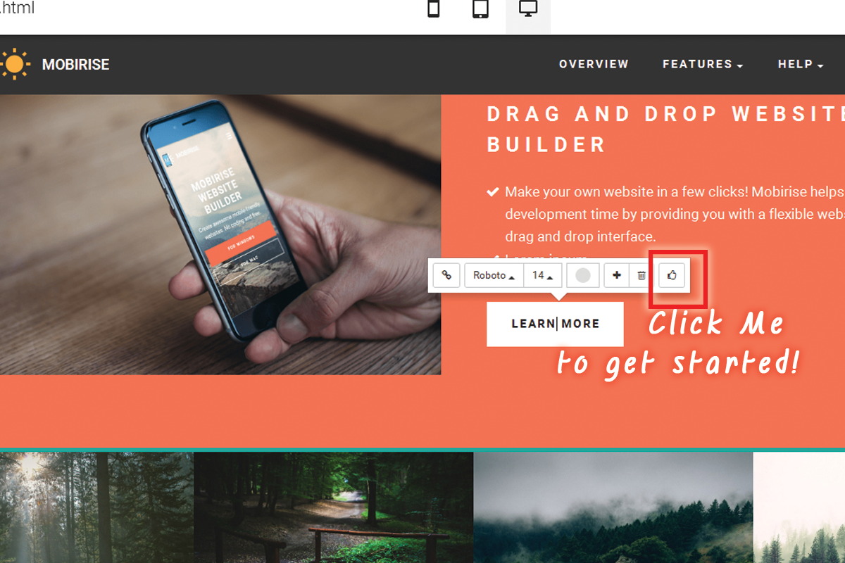 Simple HTML5 Web Authoring Software