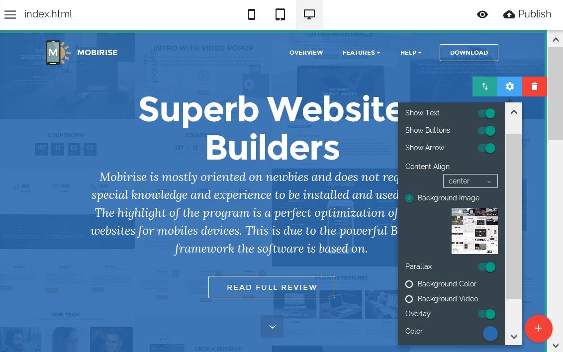 Free Website Editor