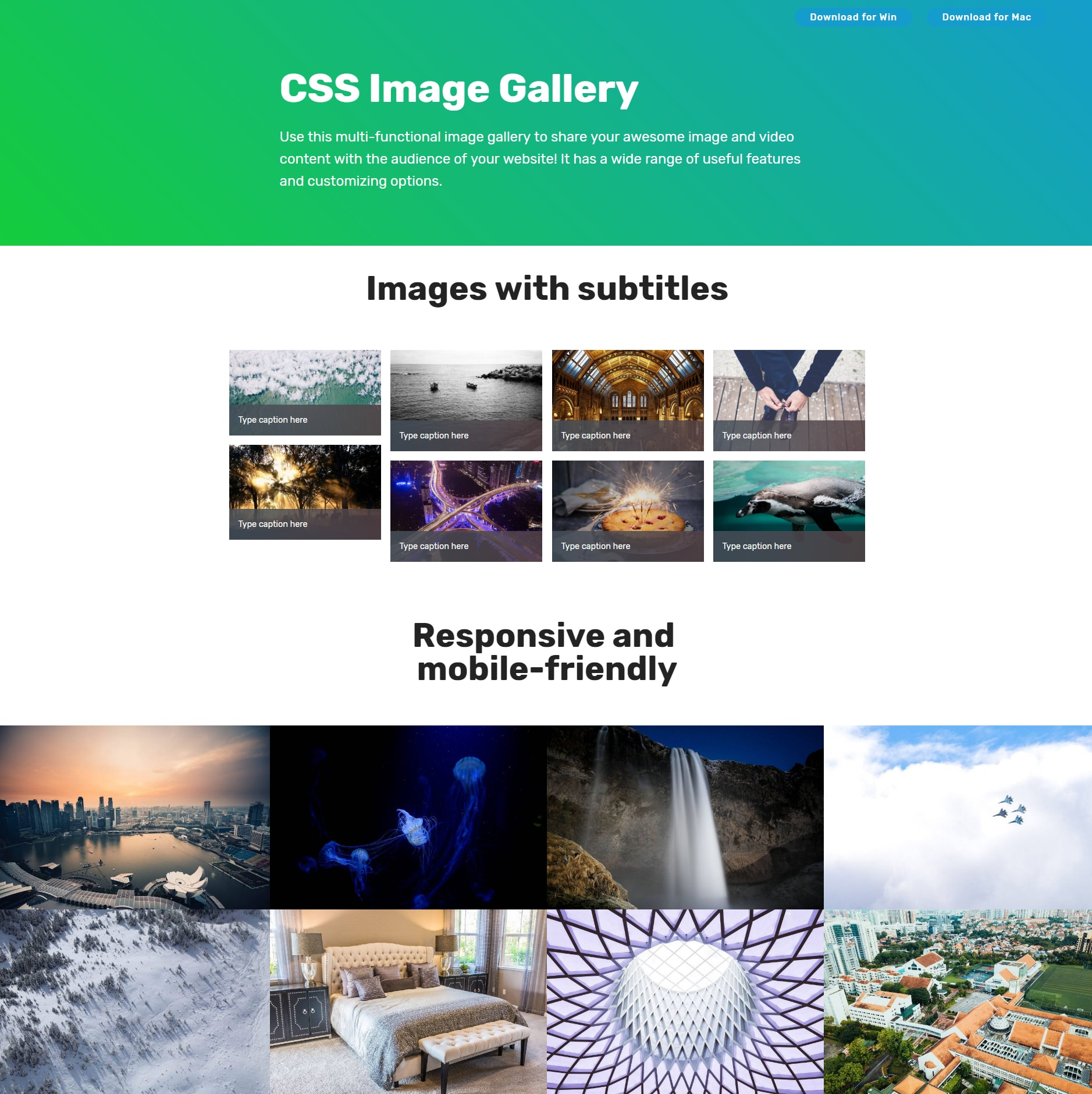 Responsive Bootstrap Photo Gallery