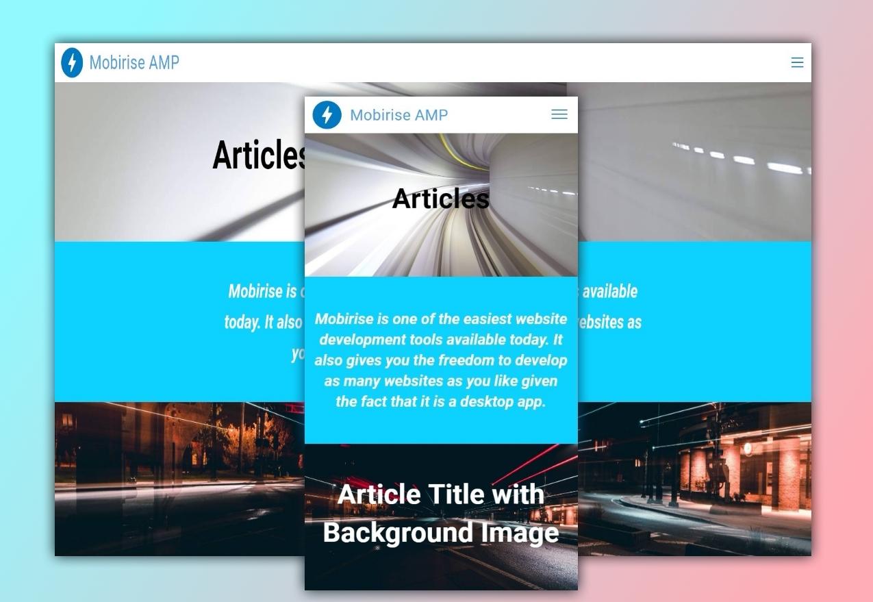 AMP Articles