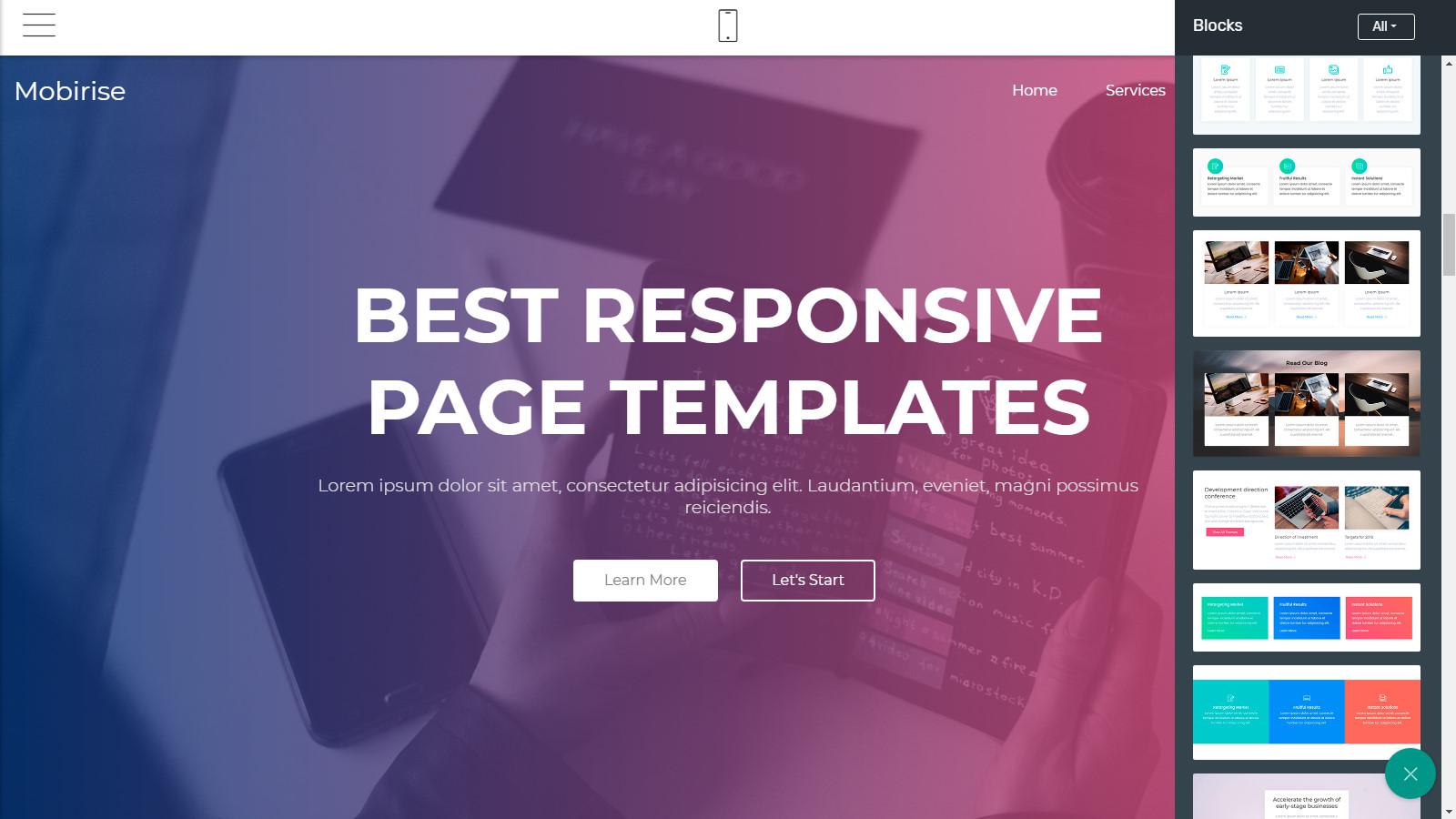 free webpage layouts
